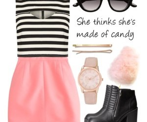 candy, clothes, and dress image