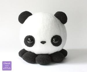 panda, cute, and octopus image