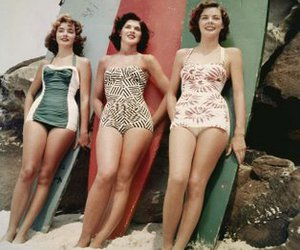 vintage, beach, and surf image