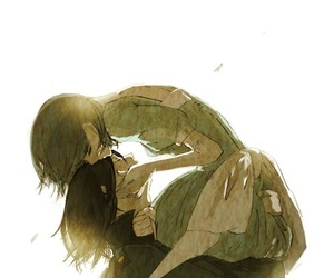 anime, howl's moving castle, and couple image