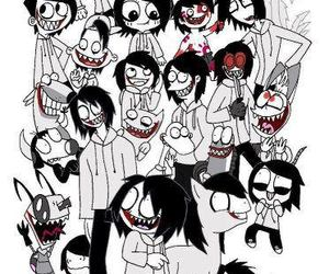 Jeff, creppy, and jeff the killer image
