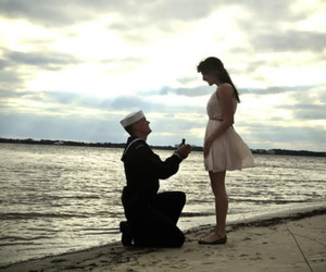cute, love, and proposal image