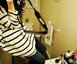 fashion, stripes, and forever21 image