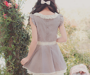 girl, style, and dress image