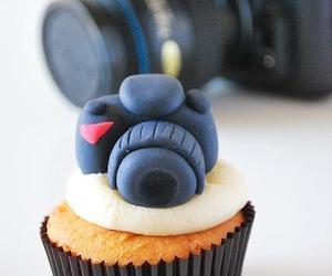 cupcake, camera, and food image