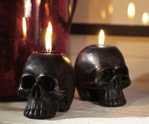 candles, goth, and grunge image