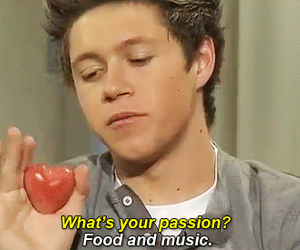 niall horan, one direction, and food image