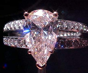 diamonds, pear, and pink image