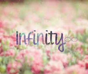 <3, infinity, and pink image
