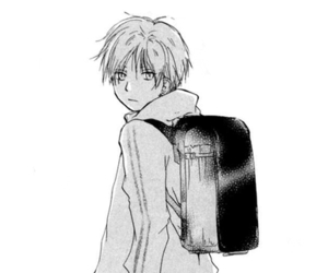 black and white, manga, and natsume yuujinchou image