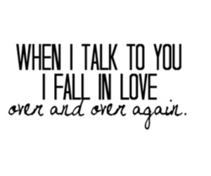 love, quote, and talk image