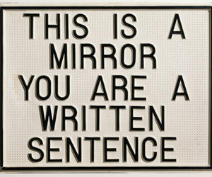 mirror and quotes image