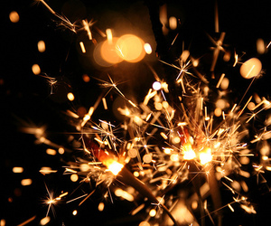 fire, light, and sparks image