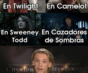 cazadores de sombras, twilight, and harry potter image