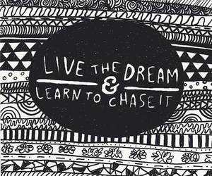 Dream, quote, and live image
