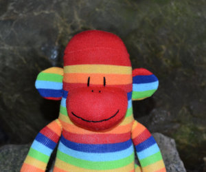 Sock Monkey, sock monkey plush, and plush monkey image
