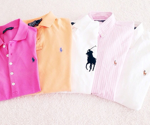 fashion, Polo, and pink image