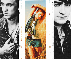 photography, draco malfoy, and hermione granger image