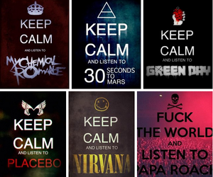 30 seconds to mars, fandom, and keep calm image