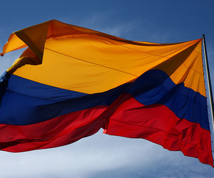 colombia, flag, and bandera image