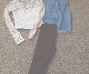 autumn, burgundy, and clothes image