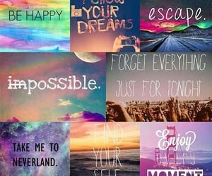 Dream, escape, and happy image