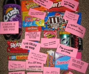 gift, candy, and sweet image