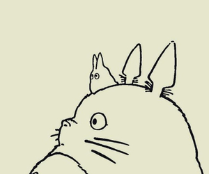 totoro, anime, and ghibli image