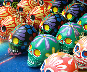 skull and mexico image