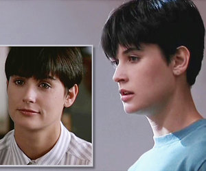 Demi Moore, ghost, and short hair image