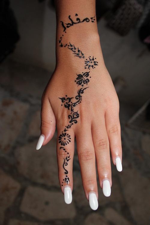 art, hand, and nails image
