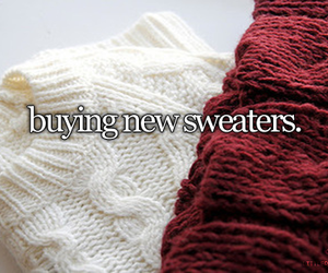 sweater, winter, and new image