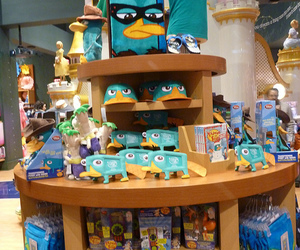 disney channel, phineas and ferb, and merchandise image