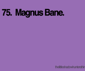 the mortal instruments, city of bones, and magnus bane image