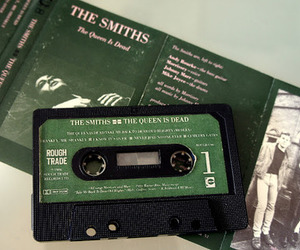 green, cassette, and the smiths image