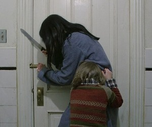 The Shining, movie, and pale image