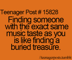 music and teenager post image