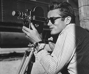 james dean, black and white, and photography image