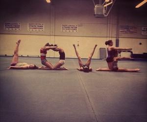 love and gymnastics image