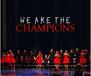 glee and we are the champions image