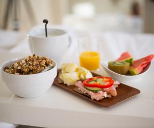 breakfast, food, and fruit image