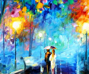 love, art, and colorful image
