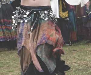 gypsy, hippie, and dance image