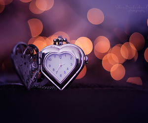 amor, heart, and time image
