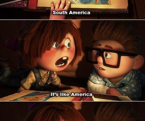 up, america, and disney image