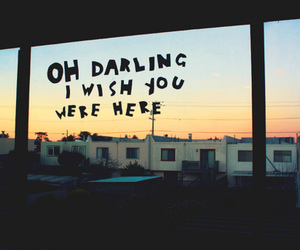 darling, quote, and wish image