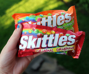 skittles, candy, and yum image