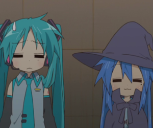 lucky star and anime image