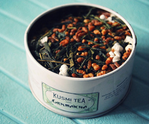box, green tea, and kusmi tea image