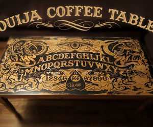 ouija and coffee table image